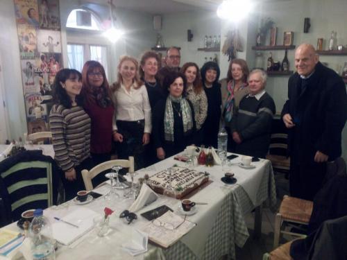 Εορτασμος Νέου Έτους με μέλη του Δικτύου